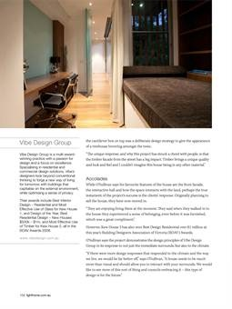 Light Home Magazine : Light Home Summer Issue 2011, Page 102