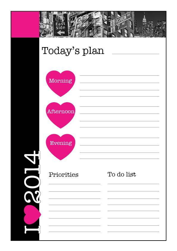 Creatif Design 4 You 'I love New York' Daily Planner!