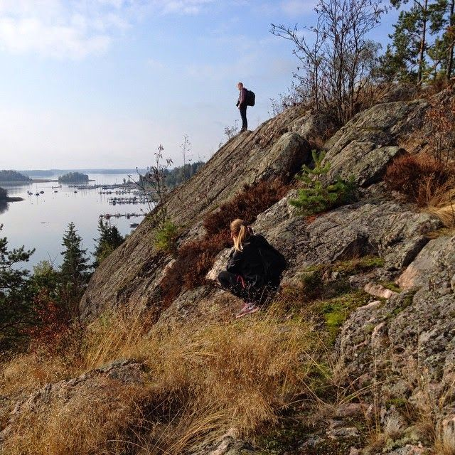 At the rocks of Porvoo #TravelHousePorvoo www.visitporvoo.fi