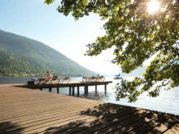Der ROBINSON Club Landskron mit direktem Seezugang am Ossiacher See