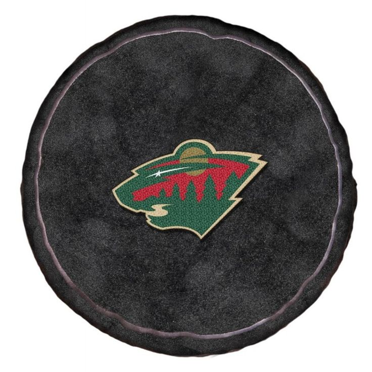 NHL Wild Throw Pillow