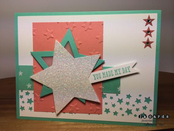 26 best images about su confetti stars border punch on for Craft paper card stock