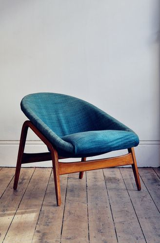 Hartmut Lohmeyer; 'Columbus' Chair for Artifort, 1953.
