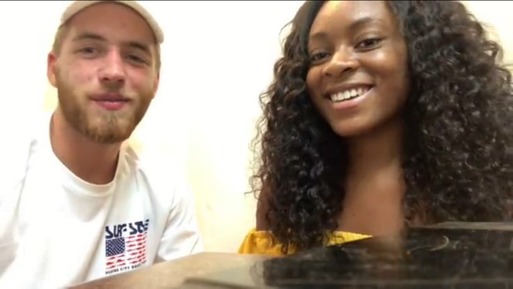 Boyfriend does my makeup #interracial #BWWM #WMBW