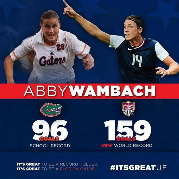 Go Abby!!! It's Great to be a Florida Gator!