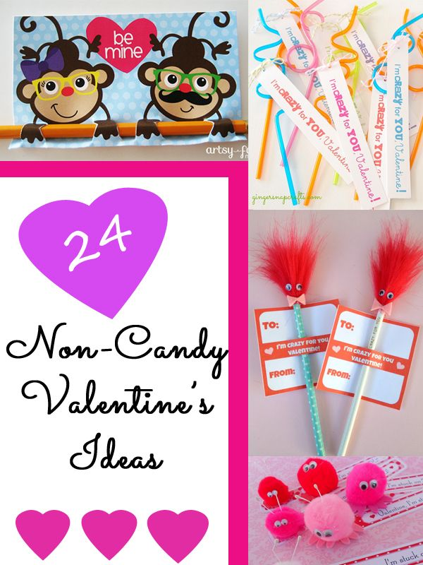 24 Non-Candy Valentine's Ideas for kids and preschool classes
