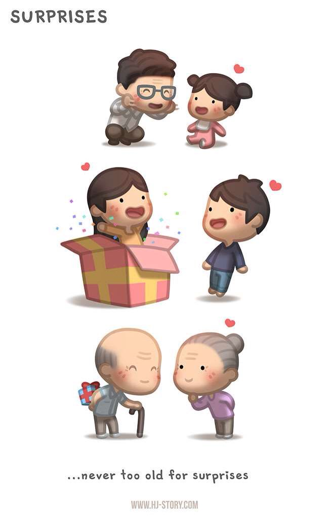 Best HJ Story Images On Pinterest Artworks Boyfriends - Cute illustrations demonstrate what true love really is