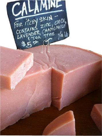 Calamine Soap, Make your own Cold Process Calamine Soap | The Ponte Vedra Soap Shoppe