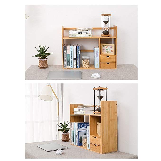 Amazon Com Ltjtvfxq Shelf Desktop Bookshelf Rack Bookcase Simple Student Desktop Storage Rack Child Desk Mini Bookshe Desktop Bookshelf Bookshelves Home Decor