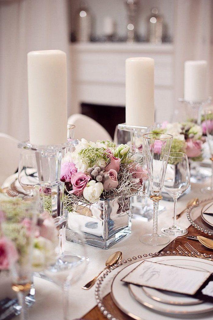 1001 Ideen Fur Eine Bezaubernde Hochzeitstischdeko Tischdeko Hochzeit Tischdekoration Hochzeit Blumen Tischdeko Goldene Hochzeit