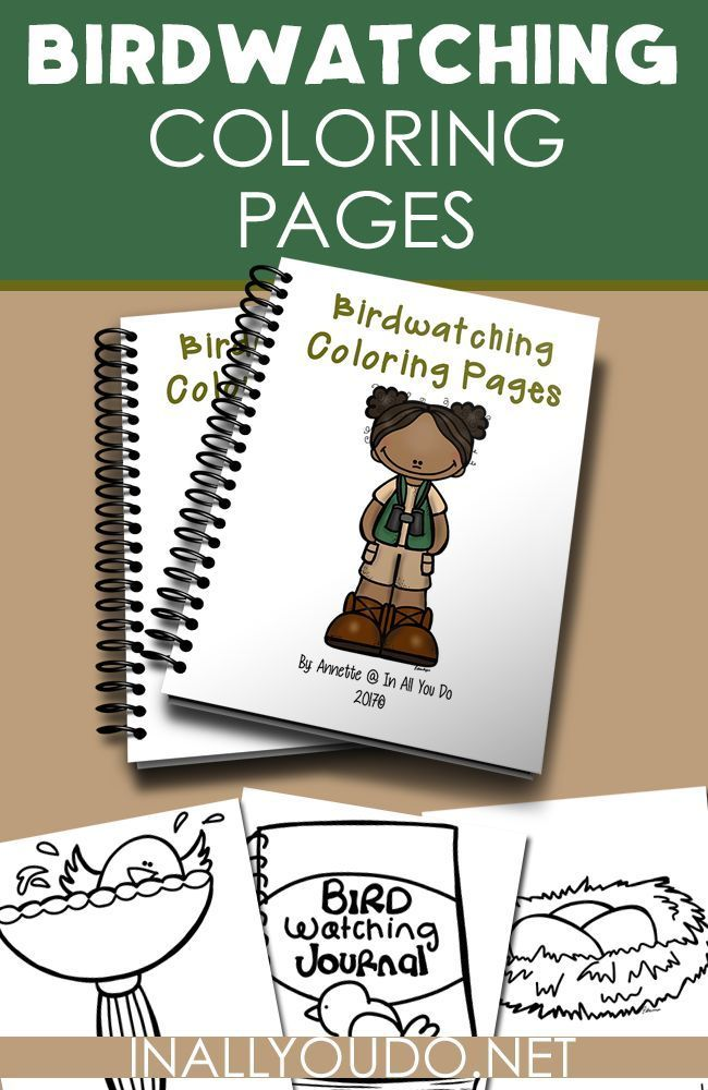 bird watching coloring pages - photo#6