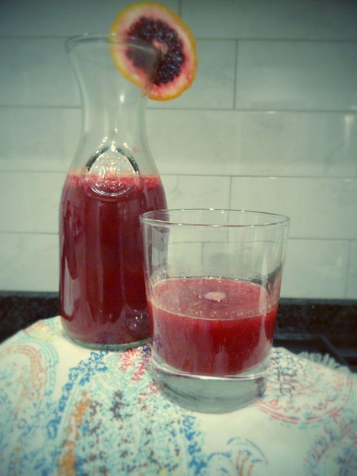 Blood Orange Soda (paleo)
