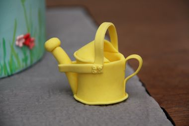 fondant watering can