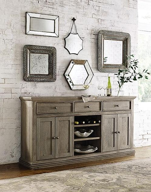 The Aldridge Sideboard is a statement maker with plenty of storage space  Hold dinnerware Dining Room Best 25 room sideboard ideas on Pinterest