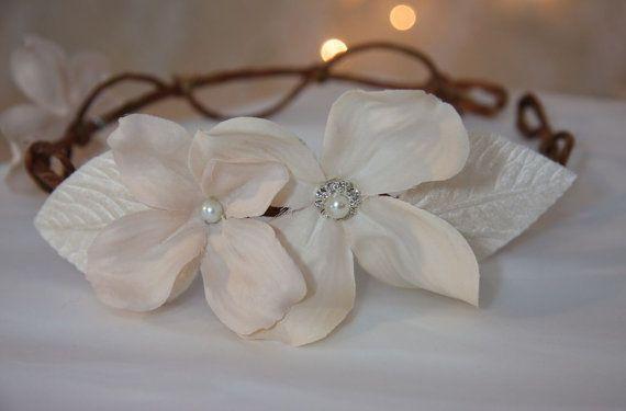 Woodland flor do casamento coroa Vine Headpiece por GracefullyGirly