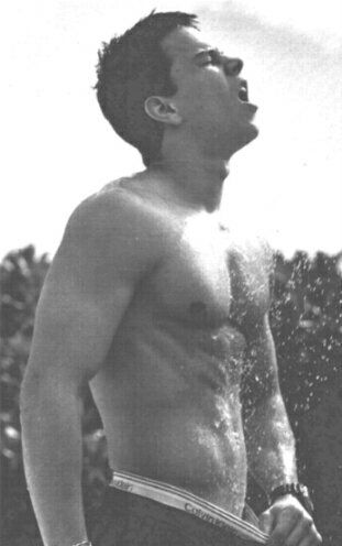 Sexy Shirtless Young Mark Wahlberg