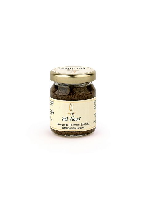 tuscanshopping:  Crema-al-TartBianco on Flickr.  The white truffle cream lends itself well to create crostini or pasta dishes. For appetizers warm the bread in a hot griddle or grill and spread over them. To season pasta just pour over it as it is.