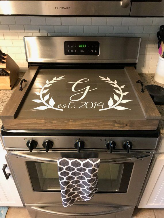 Stovetop Cover - Stove top Cover - stove top tray - tray for ...