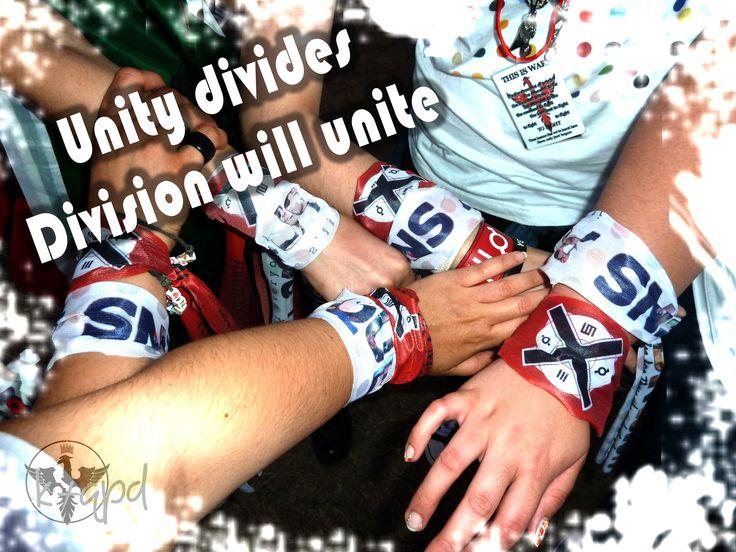 ...division will unite