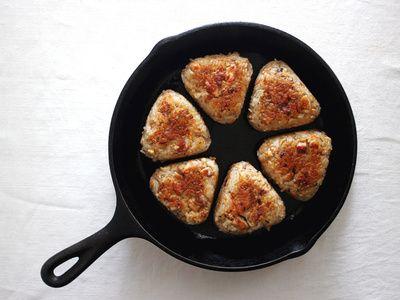 <Carte de Cuisine>鶏五目の焼きおにぎり