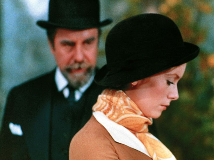 Catherine Deneuve and Fernando Rey in Tristana (1970)