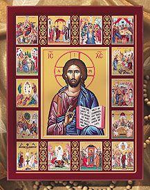 Life of Christ Icon