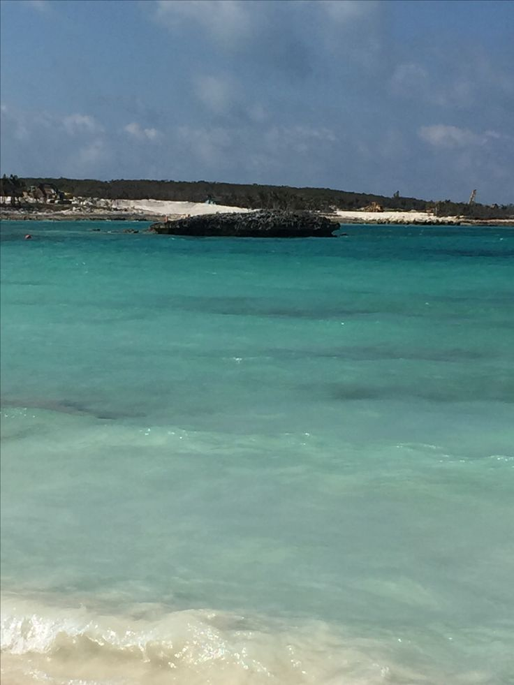 Great Stirrup Cay island