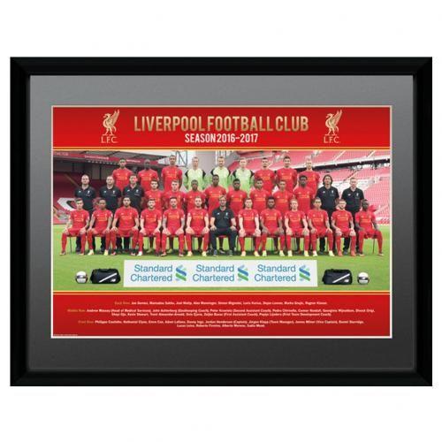 Liverpool FC Picture Squad 16 x 12