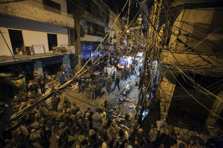 On November 12, two Islamic State suicide bombers blew themselves up in Beirut,...