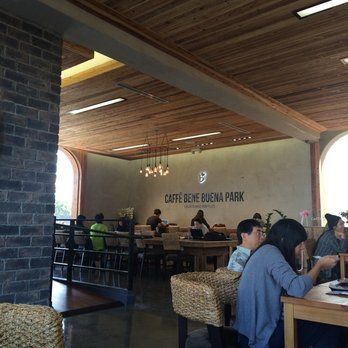 Caffé Bene - Buena Park is the newest location of this famous Korean coffeehouse chain!