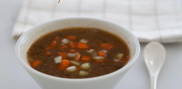 Zuppa di  lenticchie e spezie