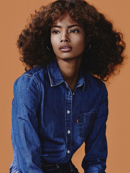 O que outras pessoas estão dizendoMalaika Firth – Vogue Russia June 2015 – #Firth #June #lo …   – hair