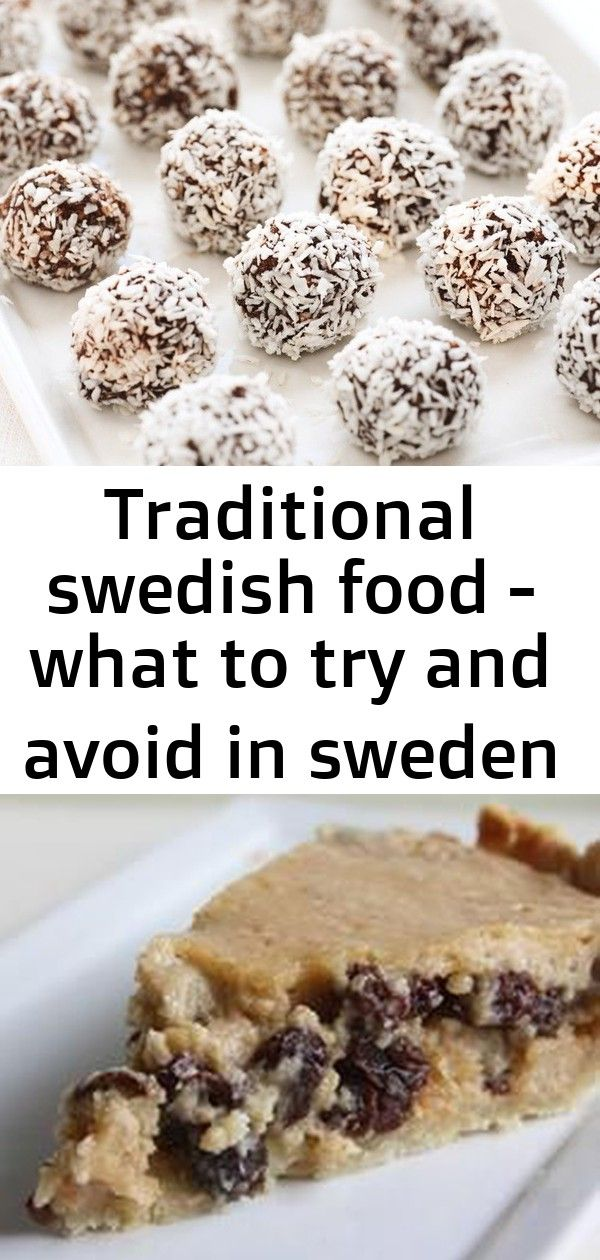 Chokladbollar Schwedische Schokoladenkugeln Rezept Traditional Swedish Food What To Try And Avoid In Sweden Swed Swedish Recipes Food Italian Almond Cookies