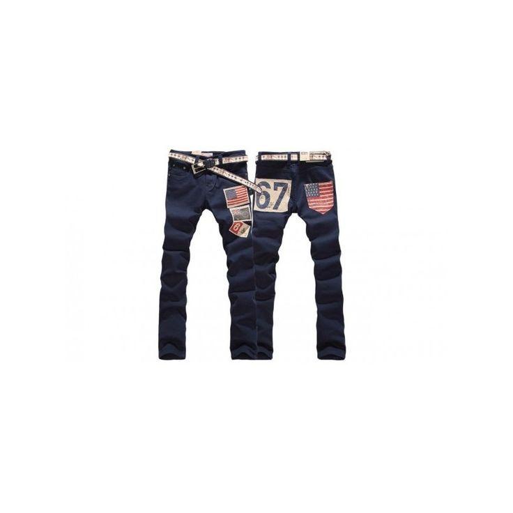 Pantalones vaqueros de hombre con bandera