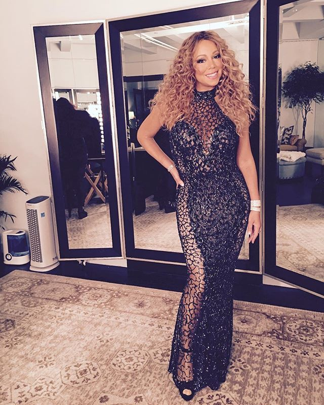 Pin for Later: These Sexy Instagrams Show Mariah Carey Looks Better Than Ever