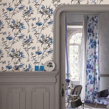 Bamboo tapeter från Designers  Designers Guild | Tapeter | Engelska Tapetmagasinet | Inredning | Online | Göteborg Floral Wallpaper