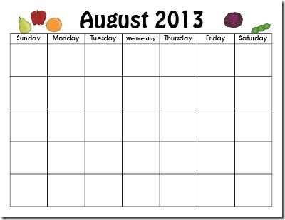 pre-k calendar time