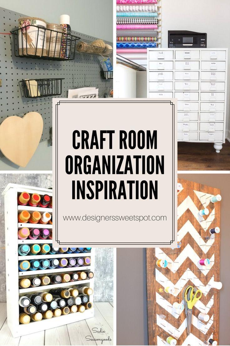 Craft Room Organization Inspiration Designers Sweet Spot Craft Room Organization Craft Room Scrapbook Room Organization
