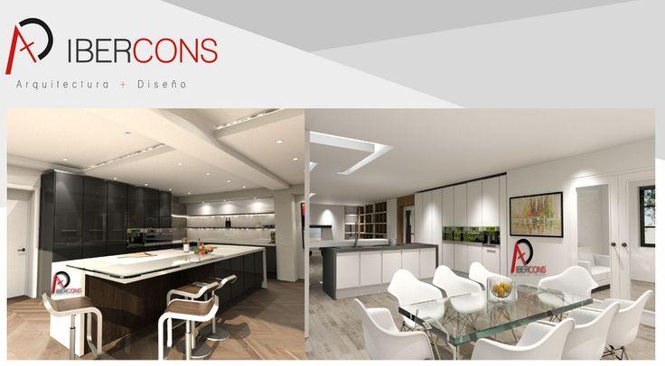 Diseño de interiores en: www.ibercons.com.co