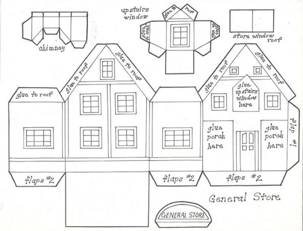 christmas com gingerbread dormer chimney blueprint 11 gingerbread ...