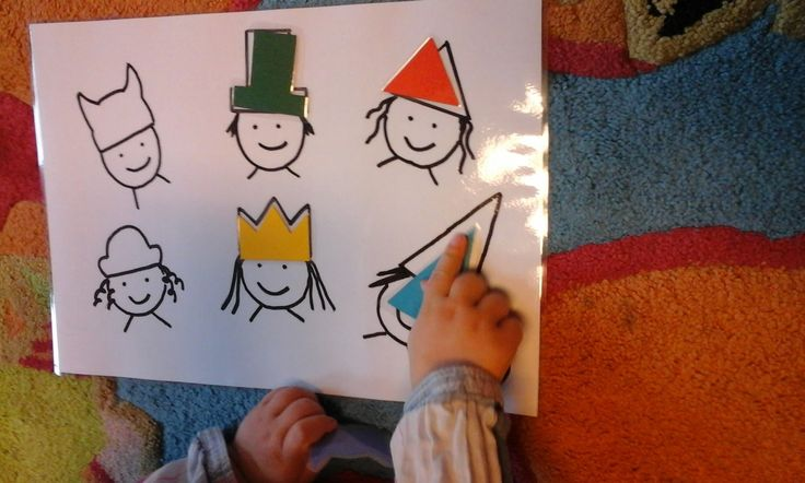Frühe Bildung? Kinderleicht! : Einfaches Legespiel zum Thema Formen