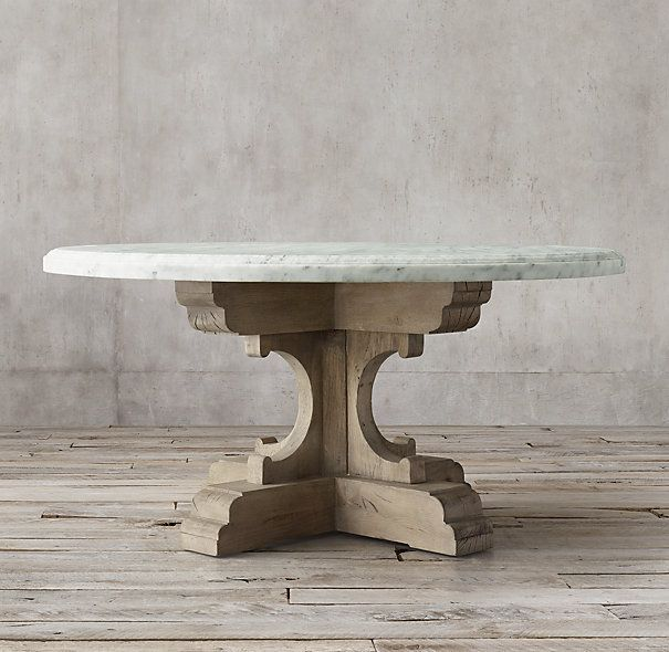 Best RemodelDecore Images On Pinterest Round Tables - Marble top circle dining table