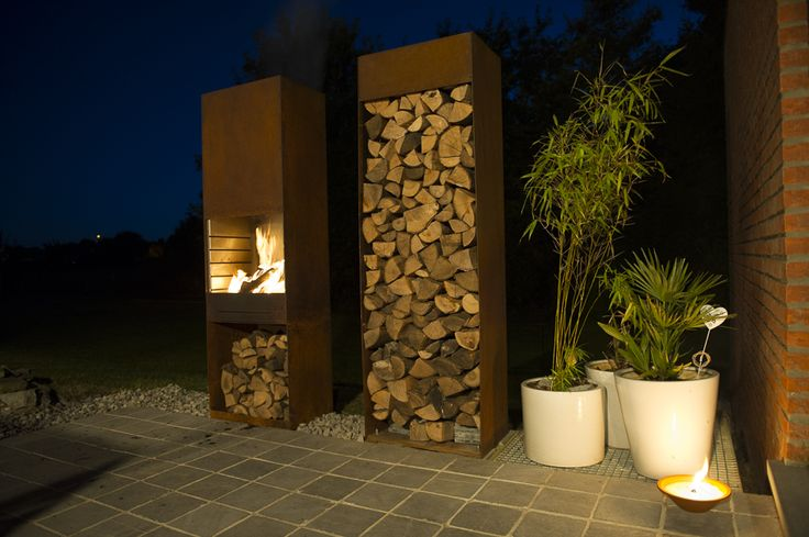 tole feu de jardin et barbecue k60 range b che k60. Black Bedroom Furniture Sets. Home Design Ideas