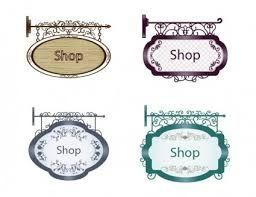 Картинки по запросу винтажные вывески магазинов