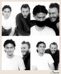 Joseph Gordon Levitt And Heath Ledger || Cuties ♡