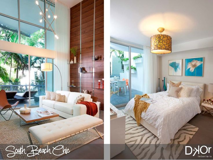 Residential Interior Design Project At The Ilona Condominium South Beach Florida