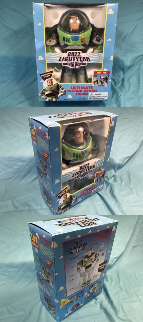 Toy Story 19223: Toy Story Buzz Lightyear Ultimate Talking Figure - Vintage Original -> BUY IT NOW ONLY: $55 on eBay!