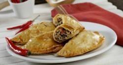 Empanadillas picantes de ternera y champiñón