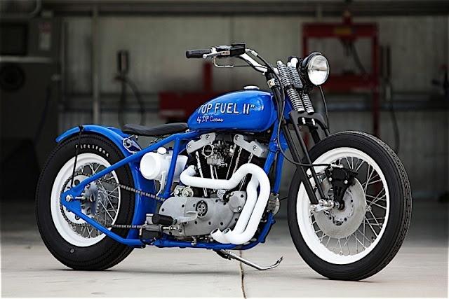 "HARLEY DAVISON '81 ""TOP FUEL"" by DP CUSTOM MOTORCYCLES"