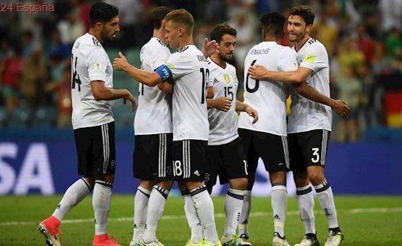 Alemania golea a México y jugará con Chile la final